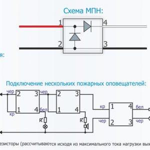 Контрольно пусковой блок С КПБ Техносервис Модуль Подключения Нагрузки